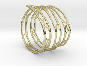 The Organic Bracelet in 18K Gold Plated