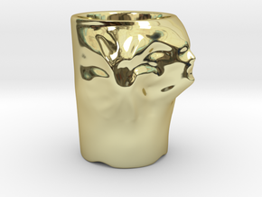 Face Escape Mug in 18K Gold Plated