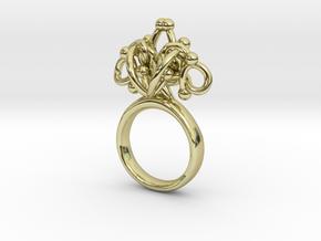 Sbosos 002 (7cm inner ring) in 18K Gold Plated
