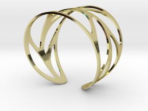 Leaf Bracelet Size M in 18K Gold Plated