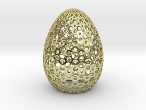 Egg Round1 in 18K Gold Plated