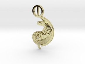 Ying Nature LARGE in 18K Gold Plated