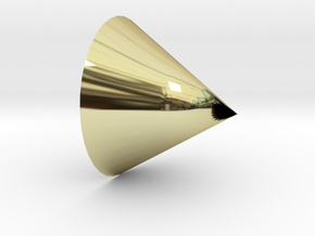 cone in 18K Gold Plated