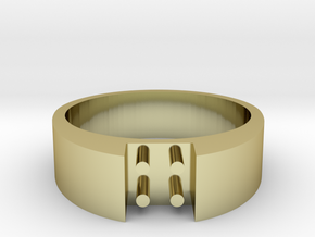 4-bit ring (US6/⌀16.5mm) in 18K Gold Plated