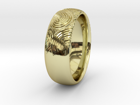 Custom RING For Her in 18K Gold Plated