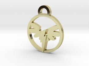 Wonderbolt Medallion in 18K Gold Plated