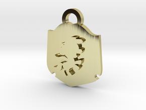 Cutie Mark Crusader Medallion in 18K Gold Plated