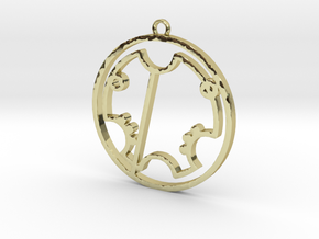 Trevor - Necklace in 18K Gold Plated