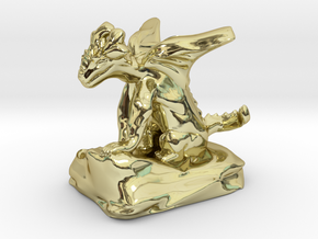 Pseudodragon Companion for Ranger or Warlock in 18K Gold Plated