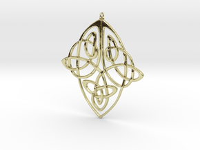 Celtic Pendent 1 in 18K Gold Plated