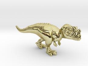 Ceratosaurus Chubbie Krentz in 18K Gold Plated