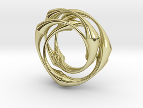 Vortex in 18K Gold Plated