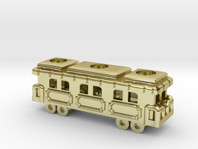 Game Train 1 SS in 18K Gold Plated