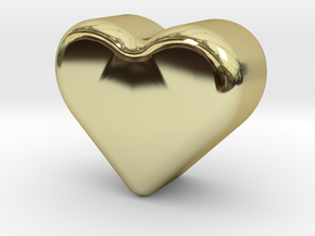 Heart Token, Miniature in 18K Gold Plated