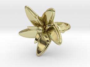 """""""UrbanFlower"""" Ring in 18K Gold Plated"""