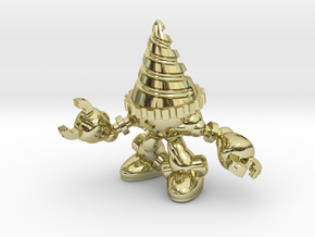 Drill-bot in 18K Gold Plated