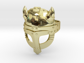 Viking Ring in 18K Gold Plated