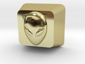 Cherry MX Alien Keycap in 18K Gold Plated