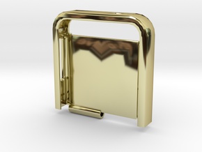 Two-Tone Multifunctional Iphone 5 Case (Top Half) in 18K Gold Plated