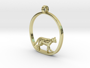 Cat in 18K Gold Plated