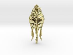 Girl Blossom Pendant in 18K Gold Plated