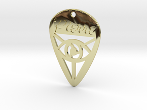 Guitar Pick (Pierre) in 18K Gold Plated