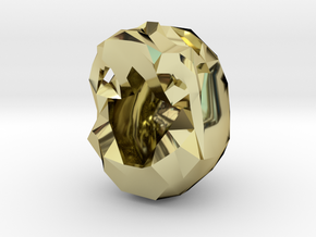 Skull Pendant Large  in 18K Gold Plated