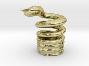 Snake Cigarette Stubber in 18K Gold Plated