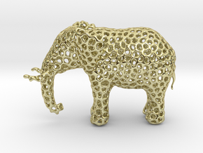 The Osseous Elephant in 18K Gold Plated