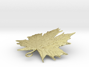 LEAF PENDANT in 18K Gold Plated