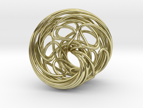 Mobius 6 in 18K Gold Plated