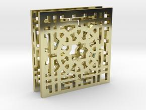 Arabesque Allure Earrings in 18K Gold Plated