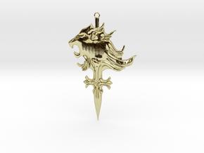Griever Emblem (keychain size) V1 in 18K Gold Plated