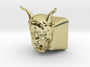 Cherry MX Hannya Keycap in 18K Gold Plated