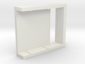 Micro USB Charging Board Tray in White Natural Versatile Plastic