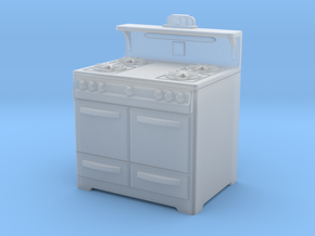 1:48 Wedgewood Stove in Frosted Ultra Detail