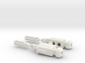 Boosti-Blaze Connector--V1c in White Natural Versatile Plastic
