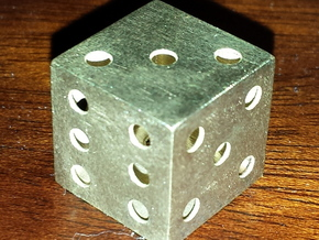 Hallow Metal Die in Raw Brass