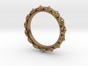 Circular Ring ø 15,3 0.602 Inch 48 C in Natural Brass