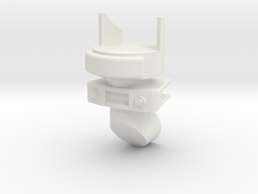 Aircraft Gun Sight in White Natural Versatile Plastic