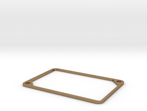 2mm Beauty Ring - 1550P spacer in Natural Brass