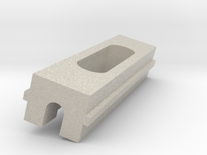 Xperia Magnetic Charging Dock (The Slider) in Natural Sandstone
