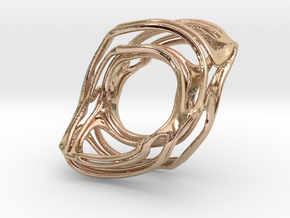BristorBrot Julia Ring 21mm in 14k Rose Gold