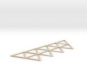Vega Frame 2D in 14k Gold Plated Brass