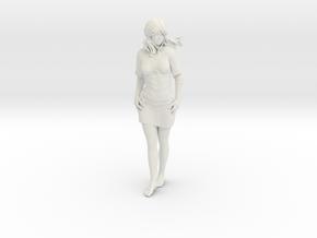 Peasant Girl in White Natural Versatile Plastic