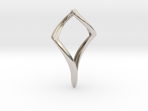 Pike (precious metal) in Rhodium Plated Brass