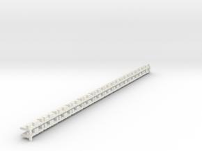 P-165stw-short-track-border-w-x24-1a in White Natural Versatile Plastic