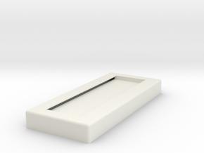 Lightsaber Stand Base in White Natural Versatile Plastic