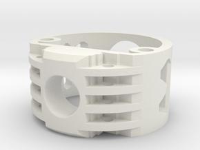 GCM113-02-V2 - Recharge Port 2.1mm in White Natural Versatile Plastic