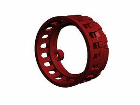 GCM110-03-02 - 28mm Premium speaker holder in White Strong & Flexible